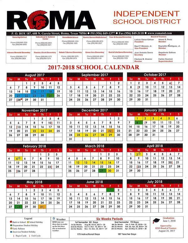 Academic Calendar   Calender