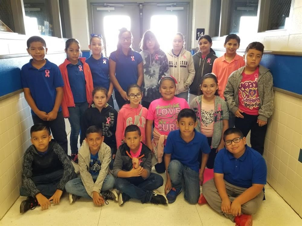 MRS. ESCOBAR'S 5TH GRADERS