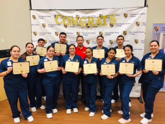 Roma High Students Complete CNA Program