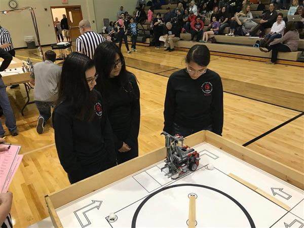 Roma High School Robotics Team.