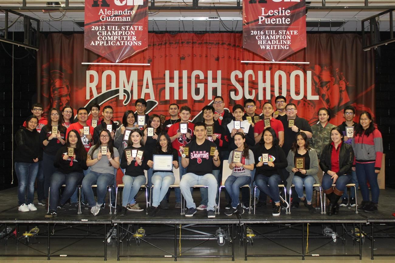 Roma High Business Professionals of America Students Headed to State Comp.