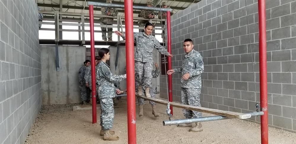 Roma High JROTC Participates in Leadership Challenge