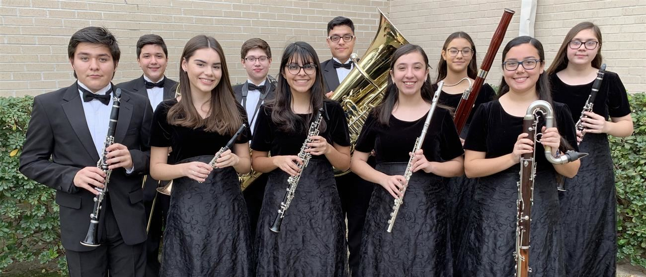 Roma High School Band Members Named to TMEA All-State Band