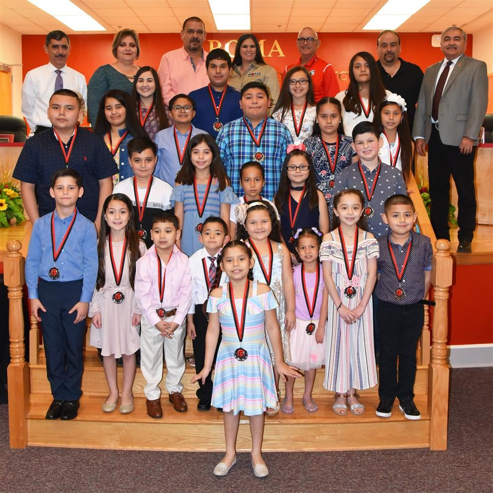 Roma ISD Celebrates April 2019 Wall of Fame Honorees