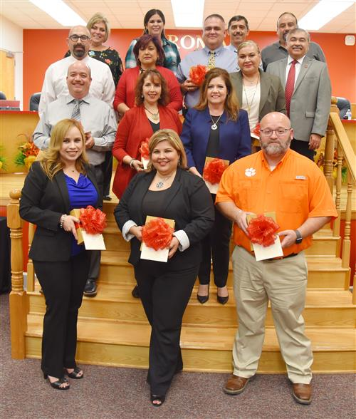 Roma ISD Highlights Hard Work of District Principals during Texas Principals Month