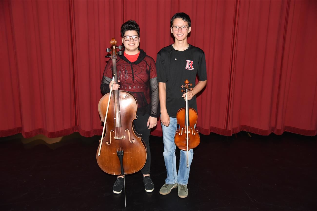 All-Region Orchestra Students.