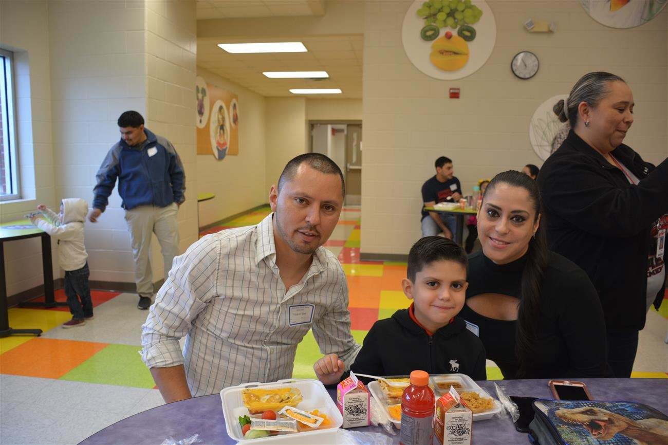 R. & C. Saenz Parent Lunch.