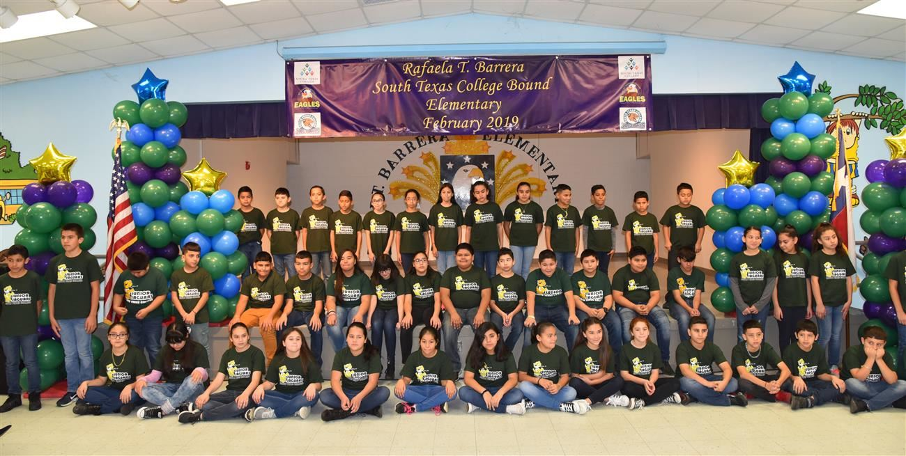 R.T. Barrera Elementary Adopted by South Texas College