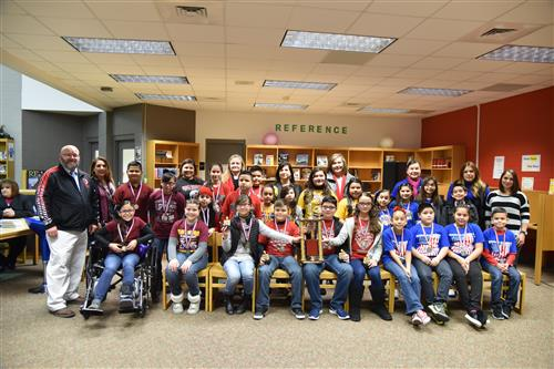 Roma ISD Battle of the Books Elementary School Participants.