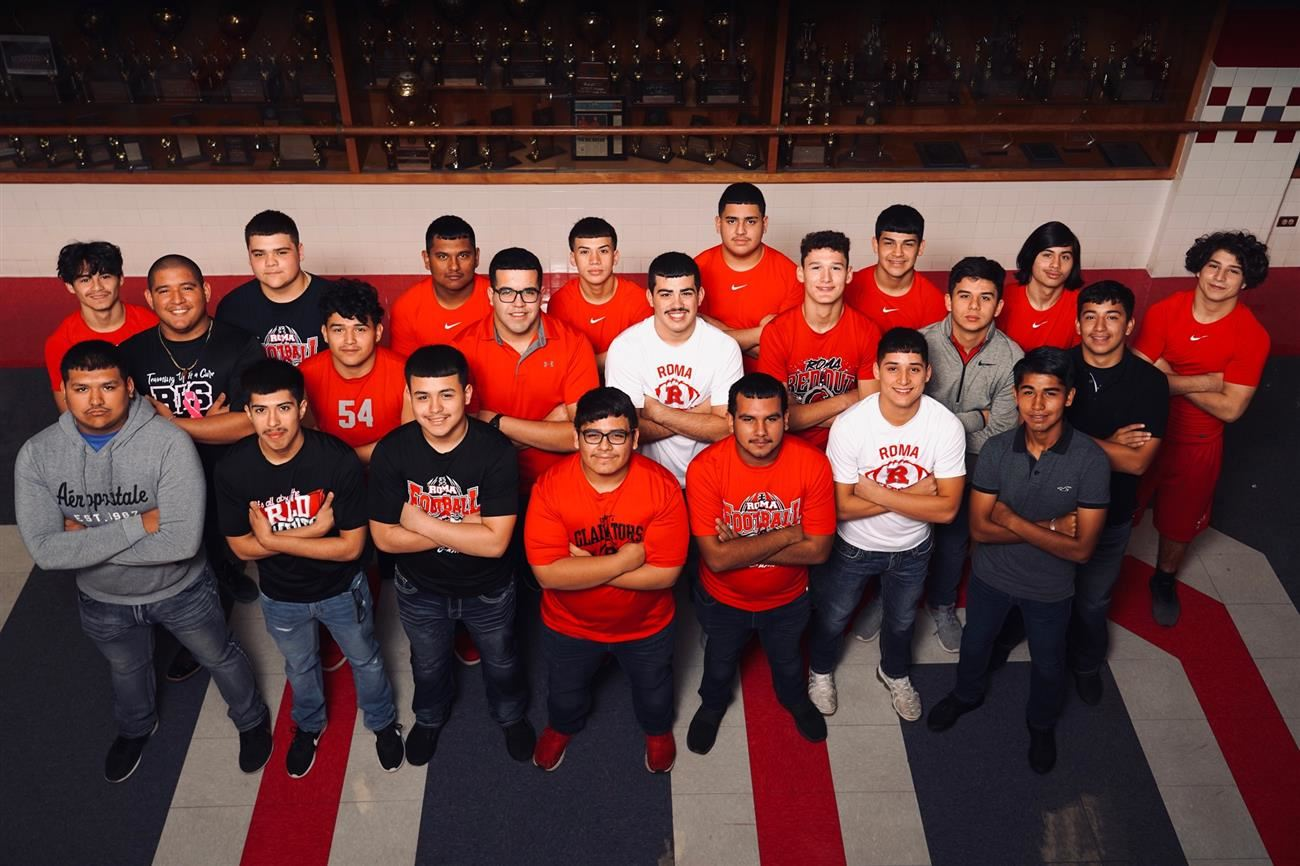 Roma High Mighty Gladiator Football Players Selected for All-District Honors