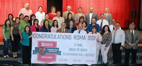 Roma ISD Students, Staff Honored at May School Board Meeting
