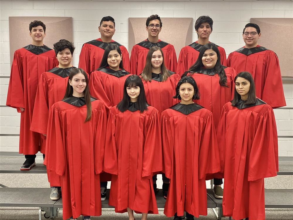 Roma High Choir Members Headed to Texas State Solo & Ensemble Competition