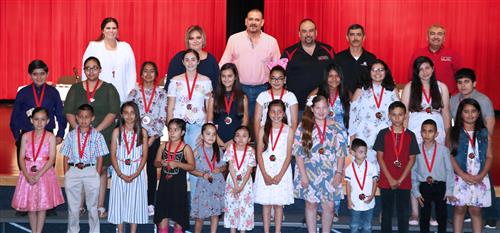 Students Honored at Roma ISD May 2018 Called School Board Meeting