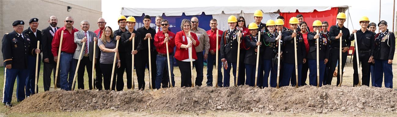 Roma ISD Breaks Ground on New JROTC Building, Added Band HallFacilities