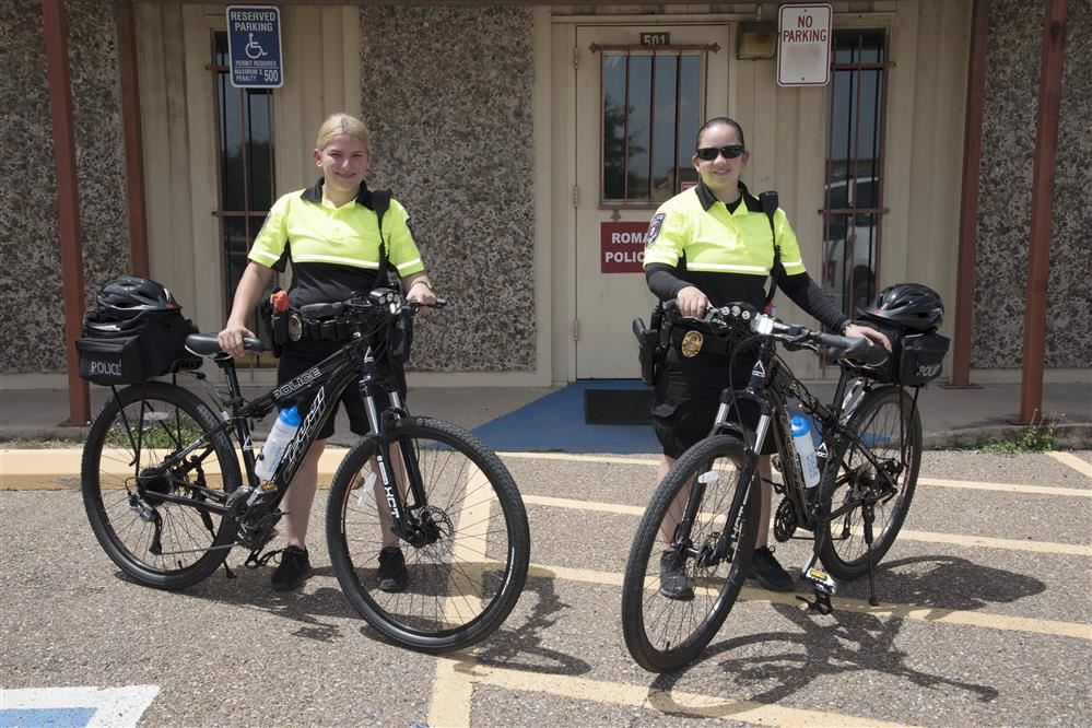 Roma ISD PD Adds Bicycles to Patrol Tools