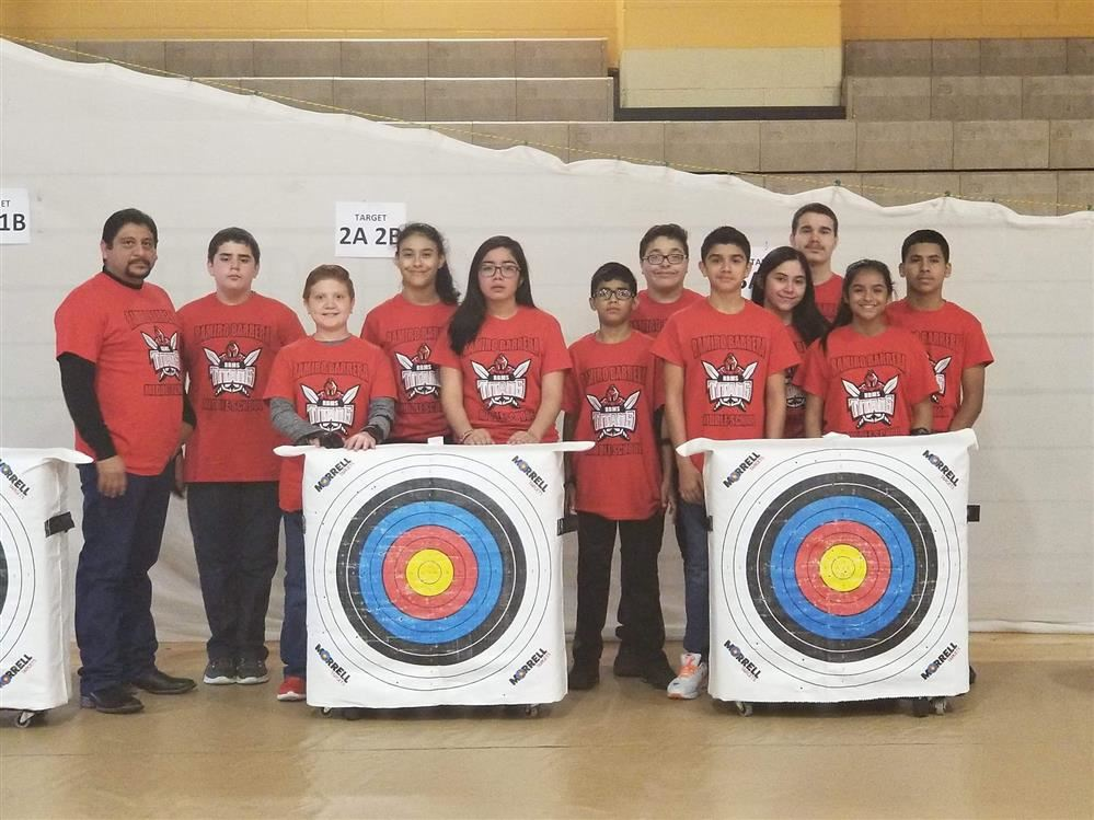 Ramiro Barrera Middle School Archery Team Headed to State Comp.