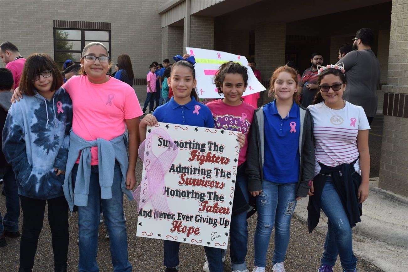 R.T. Barrera Elementary Cancer Awareness Walk.