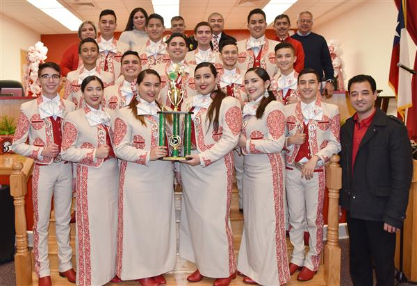 Roma High School Mariachi National Champs.