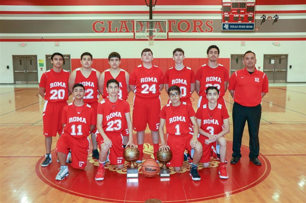 Congrats to Roma Middle School 8th Grade Boys A Team on District Championship