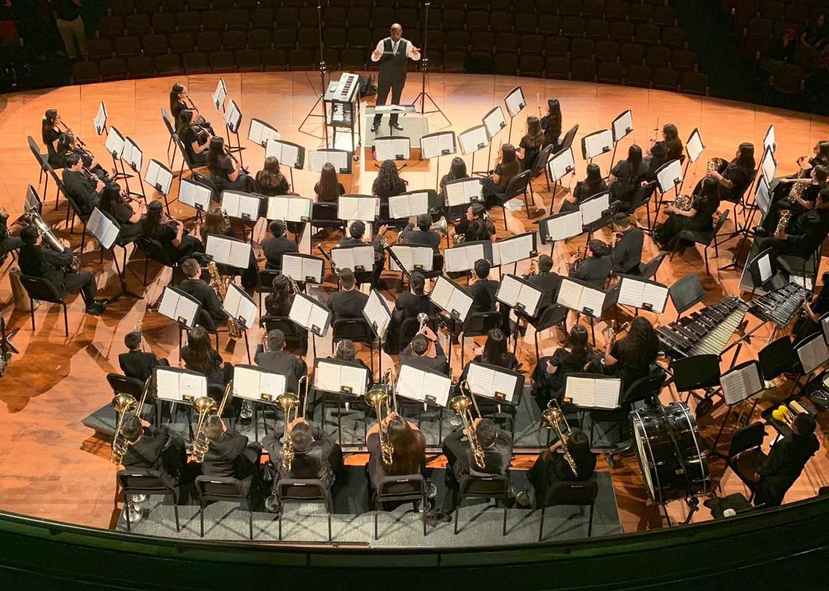 Roma Middle School Symphonic Winds Band Takes Top State Honors