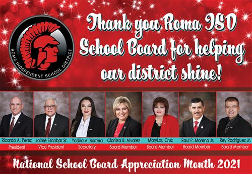School Board Appreciation Poster