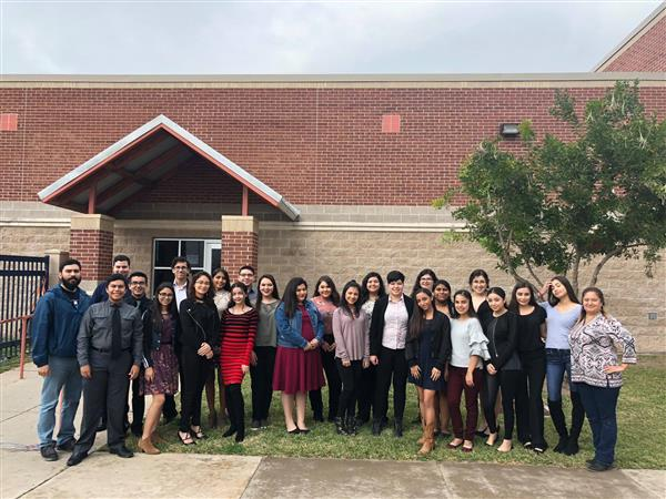 Choir students who excelled at regional compeittion, 12 headed to state.