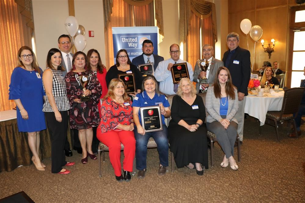 Roma ISD Honored with Two Awards from United Way of South Texas