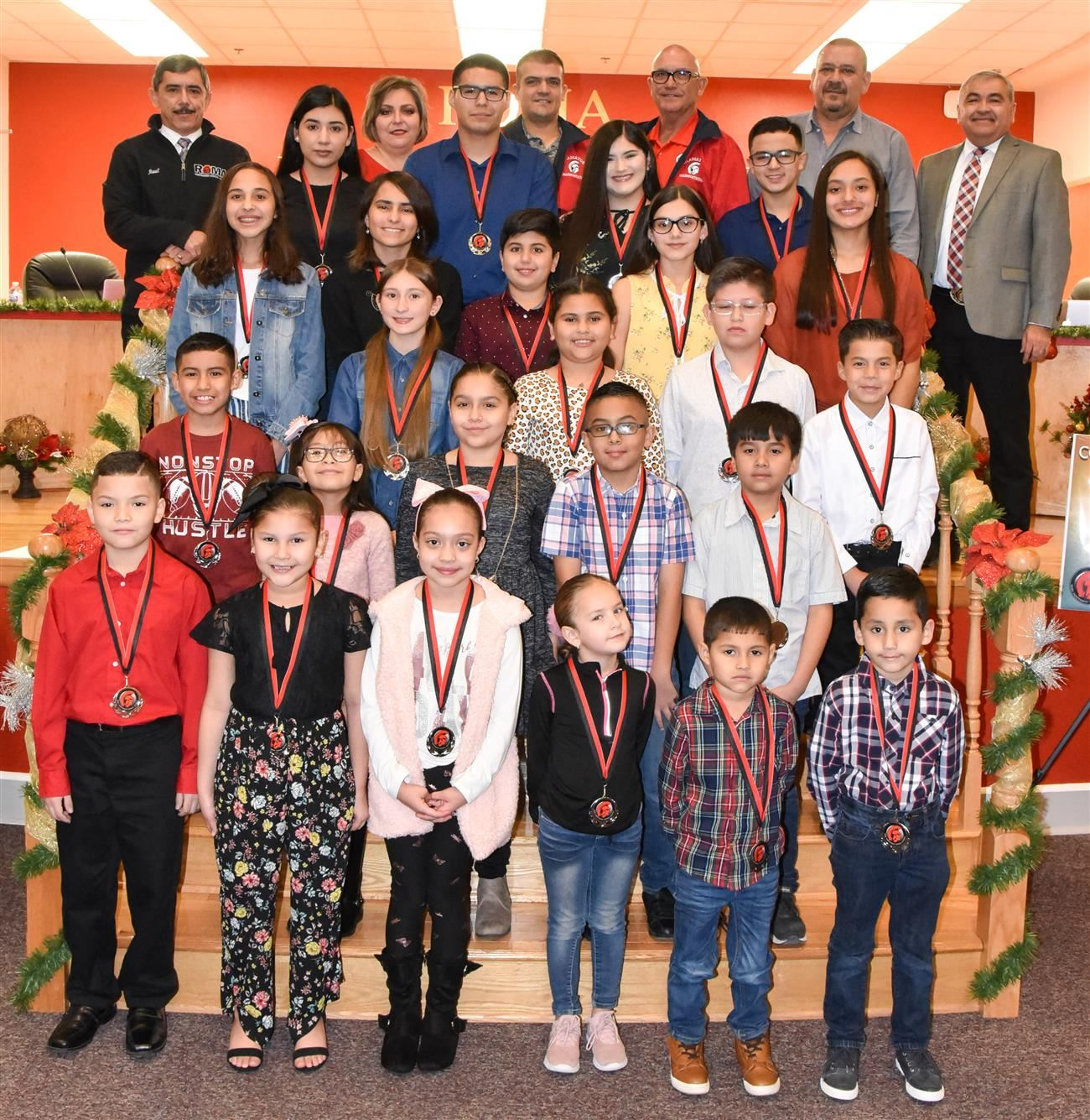 Roma ISD Highlights December 2019 Wall of Fame Honorees