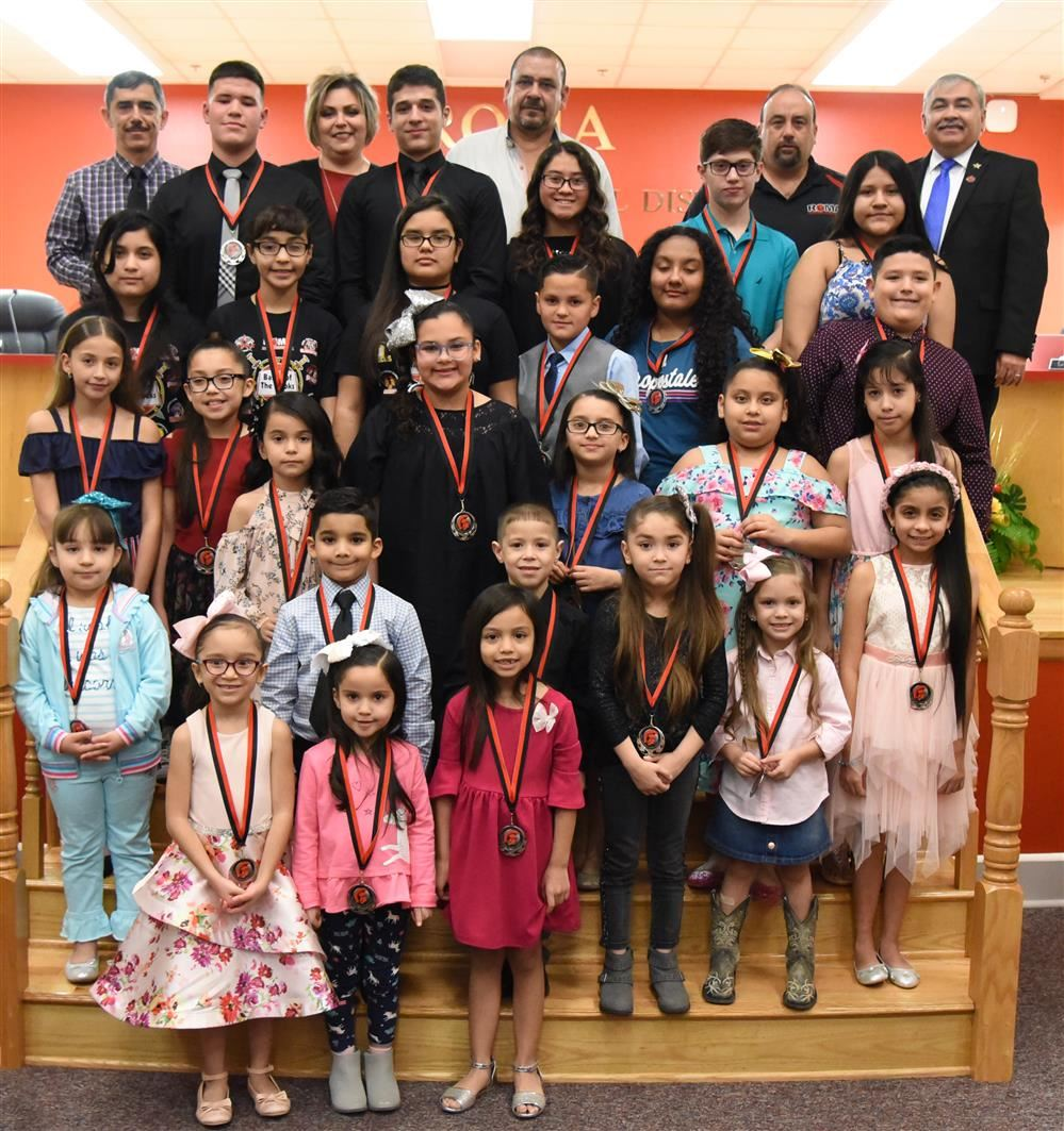 Roma ISD Celebrates March 2019 Wall of Fame Honorees