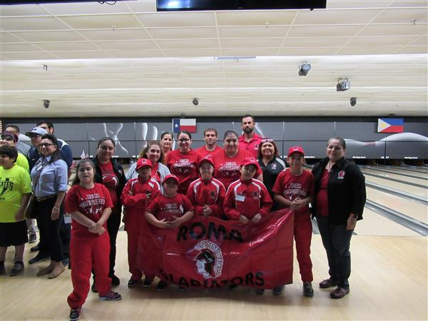 Roma ISD Special Olympians Bring Home 10 Gold Medals for Bowling Competition