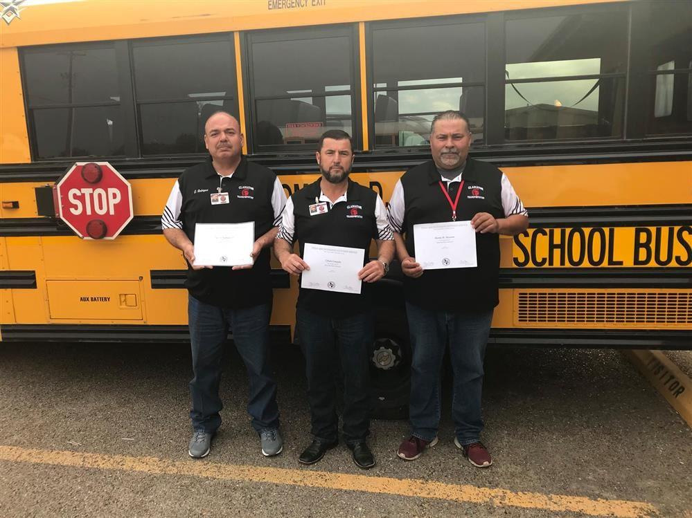 Roma ISD Bus Drivers Complete Instructor Training