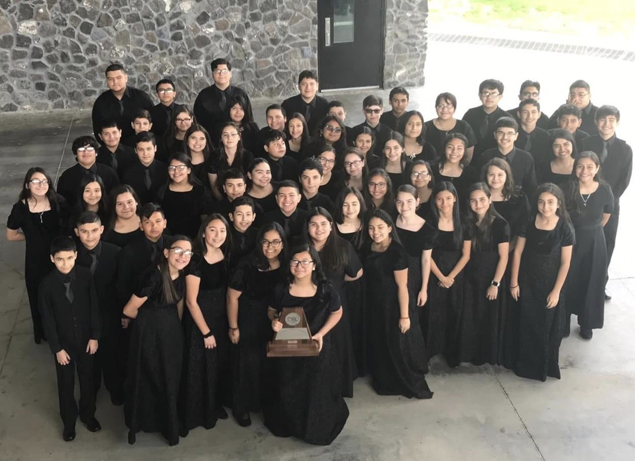 Roma Middle School Symphonic Winds Band Named National Mark of Excellence Winner for 7th Year